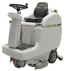 Floor Scrubber cleans up to 43,000 sq ft per hour.