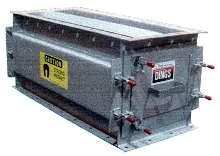 Chute Separator utilizes rare-earth magnets.
