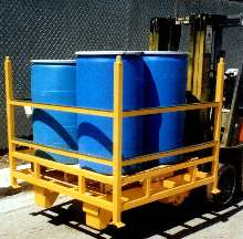 Drum Safety Cage suits storage and rough transport areas.