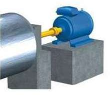 Permanent Magnet Motor eliminates gearboxes.