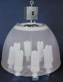 Fluorescent Fixture creates controlled lighting.