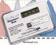 UV Exposure Meter offers product-sensitive filtering.