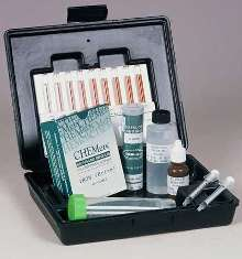 Test Kit detects iron in oilfield brines.