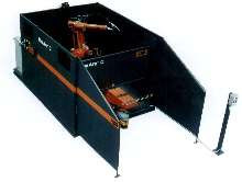 Welding Cell has high weight capacity.