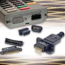 Connectors suit portable data collection devices.