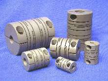 Couplings offer torsional stiffness for servo applications.