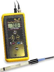 pH Meter offers Automatic Temperature Compensation.