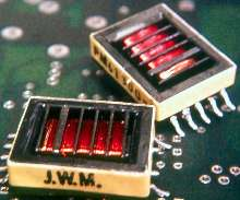 Inverter Transformers produce high voltage for LCDs.