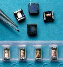 Ferrite Chip Inductors handle signal-processing circuits.