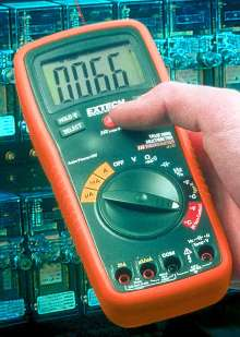 Multimeters include non-contact infrared thermometers.
