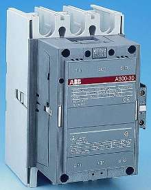 Contactors incorporate electronic coil control design.