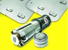 Tooling fabricates interlocking sheet metal assemblies.