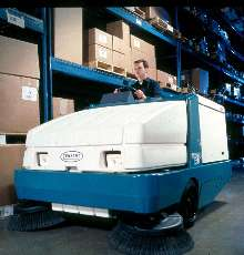 Power Sweepers provide dust control.