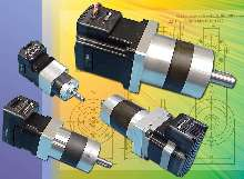 Stepping Motor includes integrated planetary gearbox.