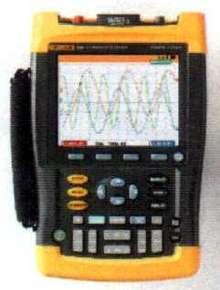 Handheld Oscilloscope can replay last 100 screens.