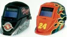 Welding Helmets honor Jeff Gordon and Dale Earnhardt Sr.