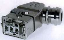 Connector provides high-amperage in compact footprint.