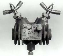 Trap Valve Station has universal mounting pattern.