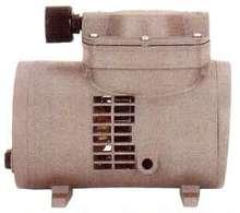 Oil-Less Diaphragm Pump utilizes long life diaphragm.