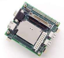 Connector Card provides common computer interfaces to SBCs.