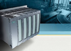 Distributed I/O System features modular, scalable design.