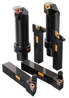 New Insert Geometries and Customized Tool Holders Optimize the Use of Coolant