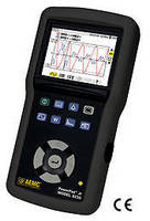 Power Quality Analyzer records and displays power issues.