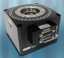 Precision Rotation Stage serves high-torque applications.