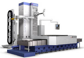 Horizontal Boring Mills accommodate workpieces up to 20 tons.