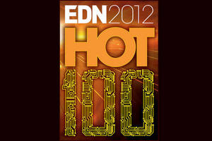 Vishay Intertechnology Captures Three Spots on EDN Magazine's List of Hot 100 Products for 2012