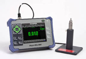Hall Effect Thickness Gauge measures from 0.0001 in. to 1 in.