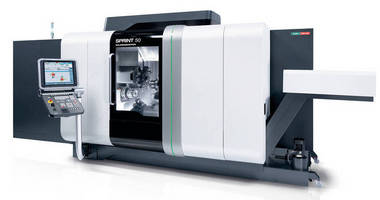 High-Speed Turning Center/Lathe has multiple expansion options.