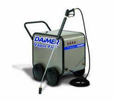 Daimer Ships Electric Pressure Washer as Steam Cleaner Alternative for Food Factory Cleaning