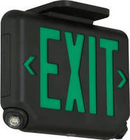 Combination LED Light serves as exit sign, emergency light.