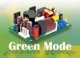 AC-DC Power Supplies offer dual fusing for medical applications.