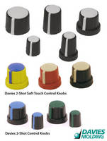 Control Knobs are constructed to provide comfortable feel.