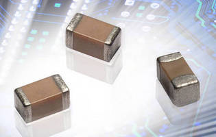 Miniature Chip Capacitors feature copper electrodes.