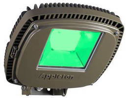Green LED Luminaire uncovers hidden flaws in steel.