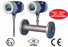 Thermal Mass Flow Meter includes calibration validation feature.