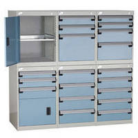 """Stacking """"L"""" Compact Cabinets"""
