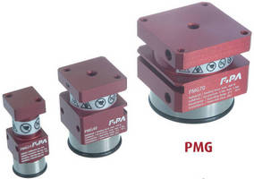 Magnetic Grippers have pneumatically controlled design.