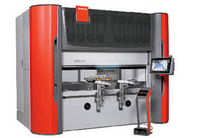 Electric Press Brake provides 88 tons of bending force.