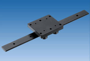 V Guide Linear Motion Systems afford design flexibility.