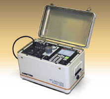 Portable Chromatograph determines BTU of natural gas.
