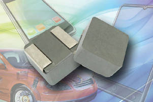 High-Current Automotive Inductor operates up to +155°C.