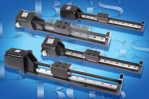 BGS Linear Rails provide rigid and smooth operation.