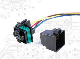 Weatherproof Relays and Sockets offer 50 A current rating.