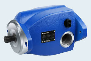 Axial Piston Pump offers load sensing to save energy.