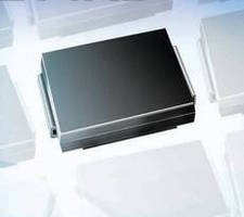 SMT Bidirectional TVS features 3 kW surge capability.