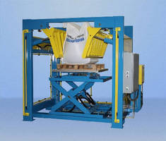 Bulk Bag Conditioner helps discharge solidified materials.